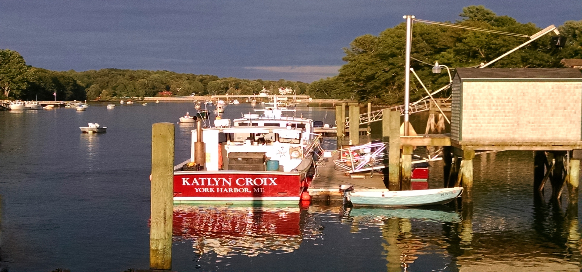 Kaitlyn Croix moored on York River