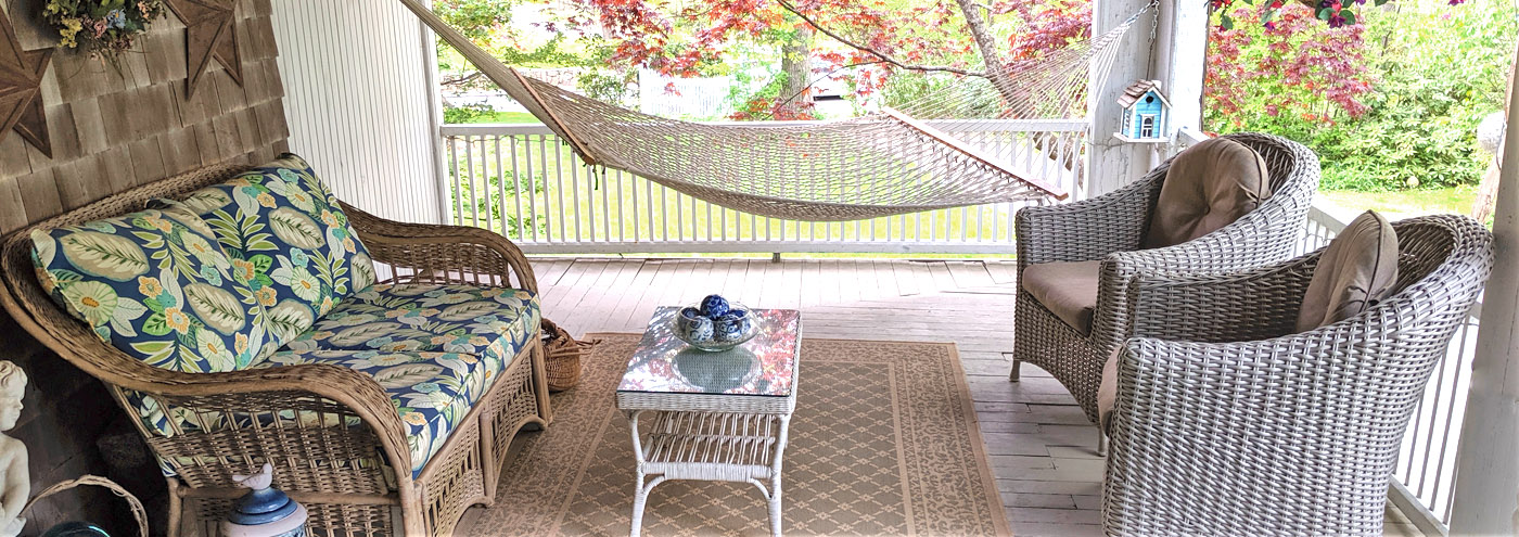 Front Porch and Hammock
