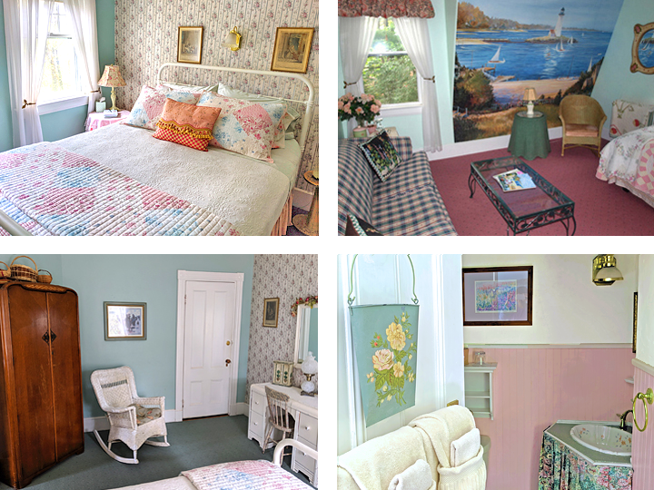 Cottage Rose Suite Collage