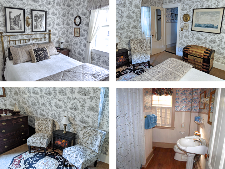 Captain's Quarters Collage