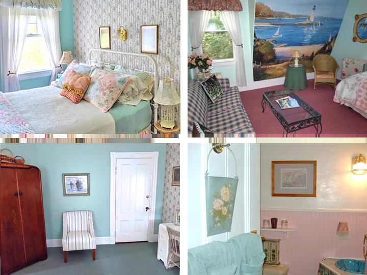 Cottage Rose Suite Collage