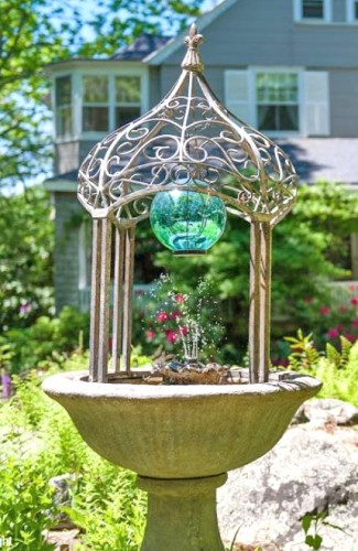 Fountain at Tanglewood